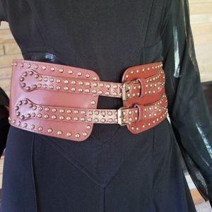 Leather 2 Buckle Belt